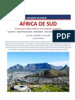 Paste & 1 Mai 2019 - Africa de Sud (Plecare Din Bucuresti)