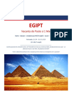 Paste & 1 Mai 2019 - Egipt