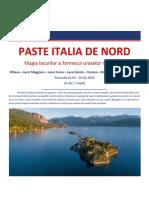Paste 2019 Italia de Nord - Regiunea Lacurilor