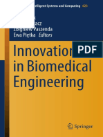 (Advances in Intelligent Systems and Computing 623) Marek Gzik, Ewaryst Tkacz, Zbigniew Paszenda, Ewa Piętka (Eds.)-Innovations in Biomedical Engineering-Springer International Publishing (2018)