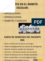 Diabetes en El Ámbito Escolar..