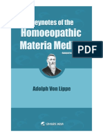 1411838158 Keynotes of the Homoeopathic Materia Medica by Adolph Lippe