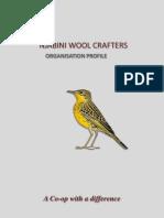 Njabini Wool Crafters Organisation Profile Organisation Profile - January 2018