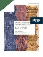 JAINA ANTIQUITIES AND MONUMENTS IN KORAPUT (B.C. - 1250 A.D.)