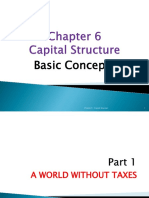 Ch 6 - Capital Structure