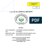 Critical Journal Review Cjr