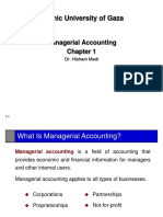Managerial Accounting  PPT