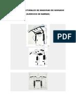 Planos Estructurales de Maquinas de Gimnasio