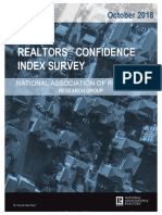 2018 10 Realtors Confidence Index 11-21-2018