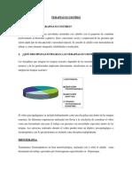 Proyecto Terapias Ecuestres.