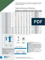 Walker Compressed Air Filter Dryer High Efficiency Filtration Xa