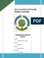 Análisis Cuantitativo de Poblaciones Animales y Vegetales Practica (2)
