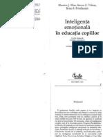 26641371 Maurice Eelias Inteligenta Emotional A in Educatia Copiilor