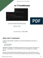 Deriving the Y Combinator in JavaScript _ Enlight