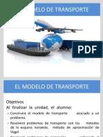 IO - III Trans - Conceptos Básicos Del Modelo de Transporte Alumnos