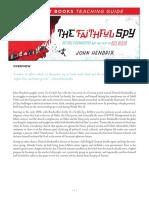 The Faithful Spy Teaching Guide