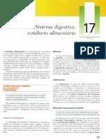 Cap 17 - Sistema Digestivo. Conducto Alimentario