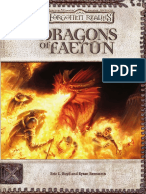 Dragons of Faerun | Wizards Of The Coast | D20 System