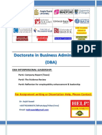 _DBA Interpersonal Leadership (Tesco).docx