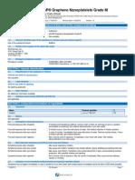 XGnPR Graphene Nanoplatelets Grade M en WHMIS OSHA GHS SDS 2015-11-26