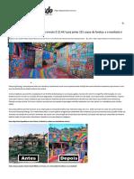 Vila Arco Ìris Uma Favela Da Indonésia Transformada Pela Arte