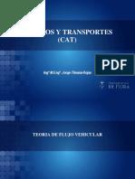 Teoría de Flujo Vehicular