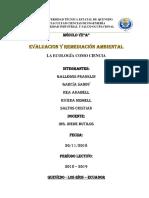 Evaluacion y Remediacion Ambiental Grupo 2 Word