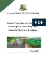 24 Down Report Disposal of MSW in Panaji City Copy