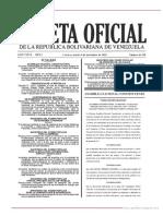 GO 41518 Providencia Administrativa Nº SNAT-2018-0141 de Fecha 16 de Octubre de 2018