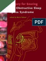 Obstructive Sleep Aponea Surgeries