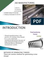 Thread Manufacturing