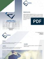 Brochure Jafelhu Eirl