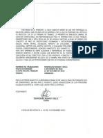Carta de Finiquito