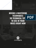 Hyperbits 50 Technical Mixing Mastering Tips