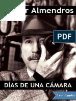 Dias de Una Camara - Nestor Almendros