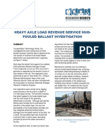 Mud-Fouled Ballast Investigation
