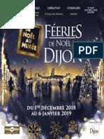 Le programme des festivités de Noël à Dijon