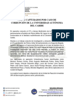 Boletín - CAPTURA 9 SUJETOS CASO DESFALCO AUTONOMA