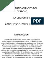 8. Fuentes Del Derecho La Costumbre