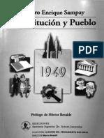Sampay, Arturo - Constitución y Pueblo