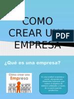 como crear empresa