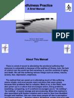 Mindfulness Practice Manual 3 June 2011