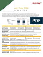 Especificaciones Xerox Workcentre 7835