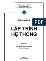 CT143 - Lap Trinh He Thong - 2008