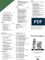 Folheto - Ordinário (Agosto) - P&B