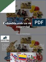 Carlos Luis Michel Fumero - Colombia Cede en Su Balanza Comercial