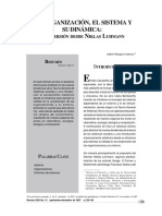 LEctura 01. Sistema y Organizacion