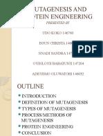 Mutagenesis and Protein Engineering