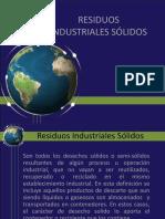 Desechos Sólidos Industriales