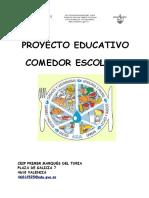 Proyecto Comedor Escolar 2012-2013